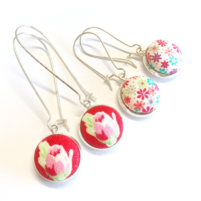 Spring Floral meets Liberty London earrings