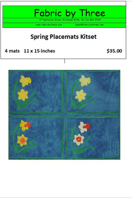 Spring Placemats -Set of 4