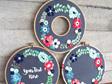 springtime wreath embroidery kit