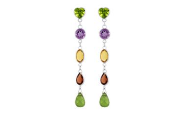 Spritz of Colour Drop Stud Earrings