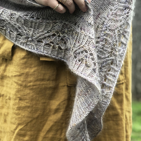 Sprouted Shawl by Jacqueline Cieslak