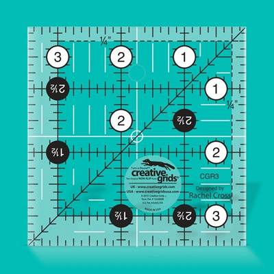 "3.5"" Square Ruler"