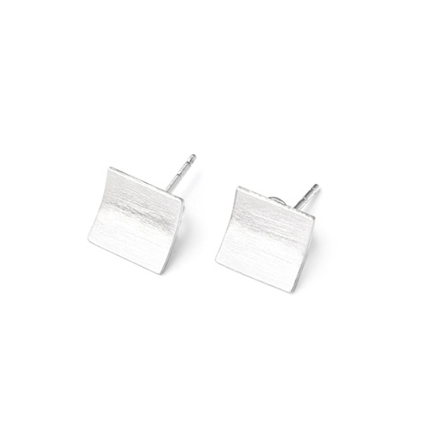 Square Page Earrings