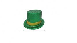 St. Patrick's glitter hat