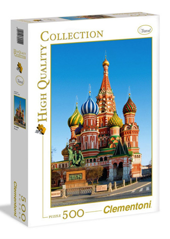 Clementoni 500 Piece Jigsaw Puzzle: St Basil's Moscow