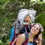 St James Walkway - with a Baby!