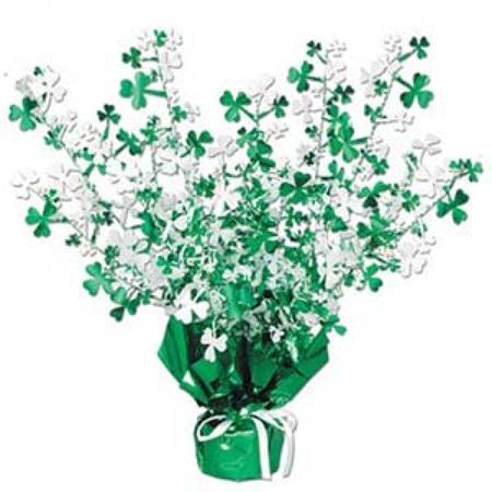 St Patrick's day centrepiece - foil 38cm