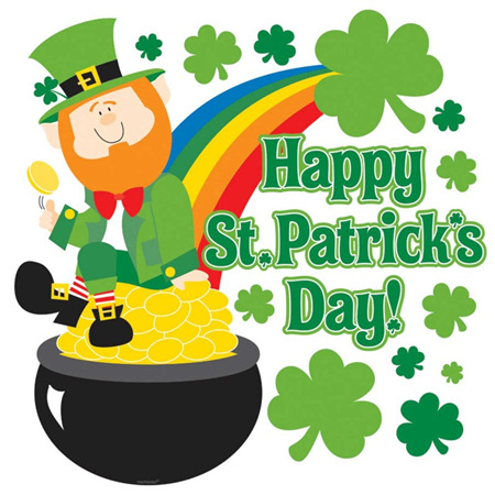 St Patricks Day Irish Decorations Kingfisher Gifts Party Xmas