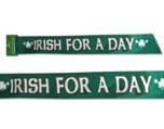St Patricks day sash
