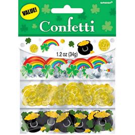 St Patrick's Day value confetti