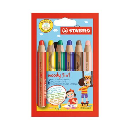 Stabilo Woody 3-in-1 Pencils