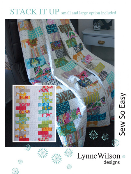 Stack It Up Quilt Pattern from Louise Wilson Designs