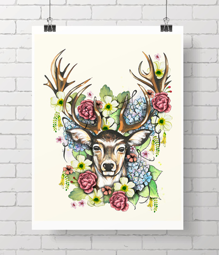 stag - flora