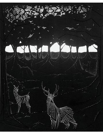 Stag Illustration