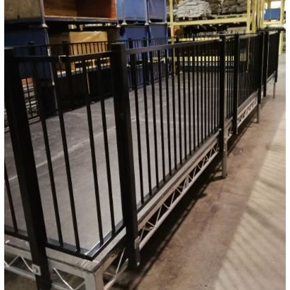 Stage Hand Rail Section 240cm
