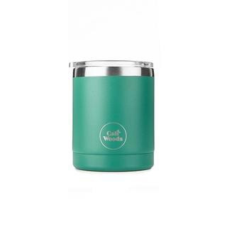 Stainless Short Cup - Emerald Green