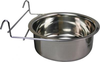 Stainless steel 1.34L hook attachment bowl