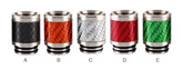 Stainless Steel Carbon 810 Drip Tip