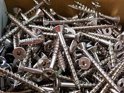 Stainless Steel Decking Screws 65mm x 12G 316
