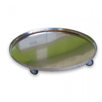 Stainless Steel Tray on Castors 200L