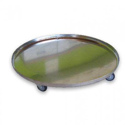 Stainless Steel Tray on Castors 500L