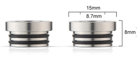 Stainless TFV8  510 Tip Adapter