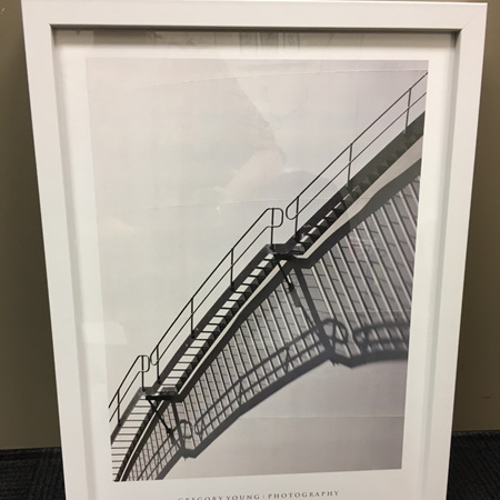 Stairs - Framed Photograph