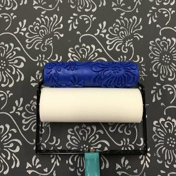 Stamping Roller:  Chrysanthemum - complete kit