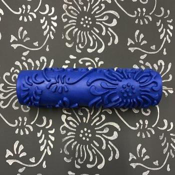 Stamping Roller only:  Chrysanthemum