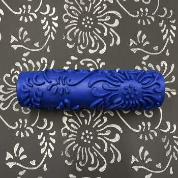 Stamping Roller only:  Chrysanthemum