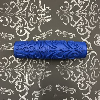 Stamping Roller only:  Serenity Damask