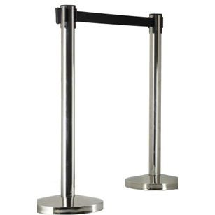 Stanchion Belt Black 4way