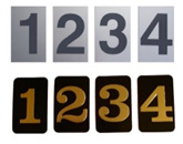 Standard Self Adhesive Numbers
