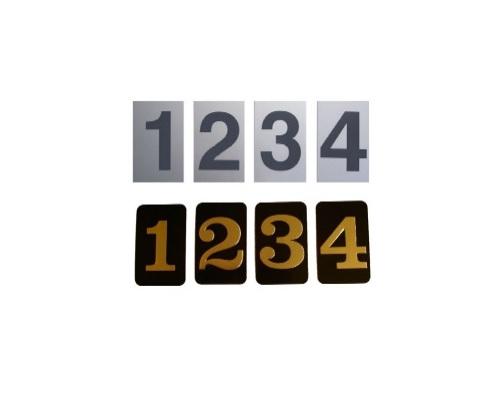 Standard Self Adhesive Numbers