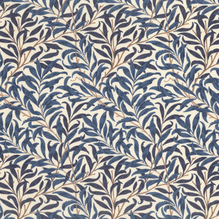 Standen Navy Willow Boughs PWWM030.Navy