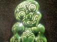 Standing ceramic Tiki