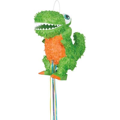 Standing green dinosaur