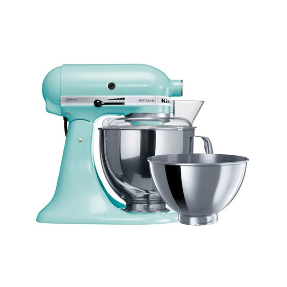 Standing Mixer - Ice Blue Two Bowls