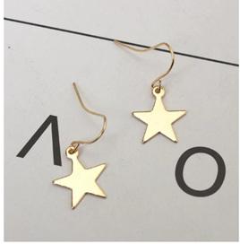 STAR EARRINGS - GOLD COLOUR