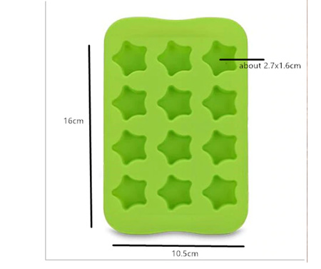 STAR Shaped Tray Silicone Mould