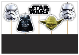 Star Wars Candles pack of 5