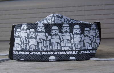 'Star Wars' Face Mask, Size M (10-15 years)