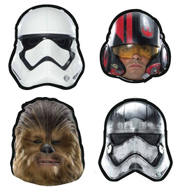Star Wars masks x7