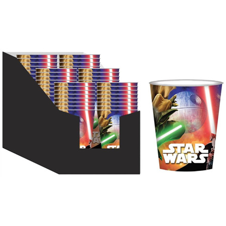 Star Wars Party Cups NEW x 8