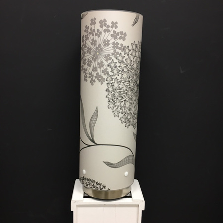 Starburst Designer Wallpaper Lamp, Grey Colour way