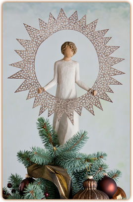 Starlight Tree Topper - Willow Tree