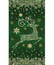 Starry Night Reindeer Green