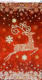Starry Night Reindeer Red