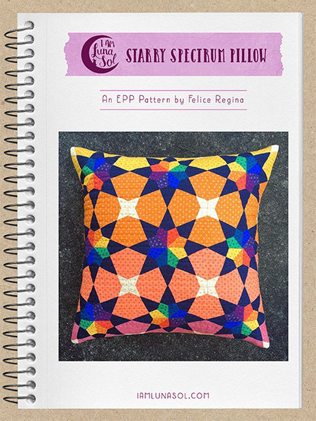 Starry Spectrum EPP Pillow Pattern