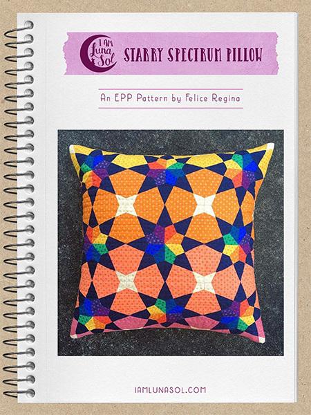 Starry Spectrum EPP Pillow Pattern